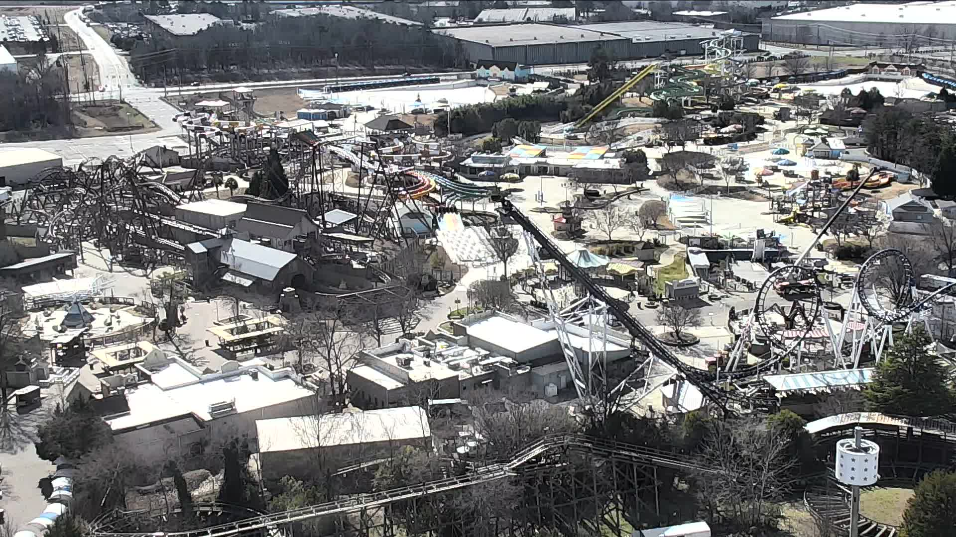 rollercoaster, live, stream, amusement, park, rides, people, north carolina