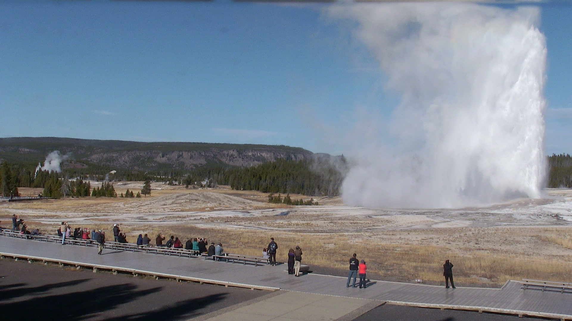 Yellowstone National Park - Old Faithful Geyser - NPS